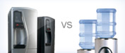 Plumbed vs Bottled Water Coolers